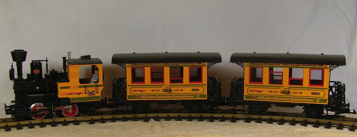 "Set ""150 Jahre Deutsche Eisenbahn"" (150 years of German Railways)"