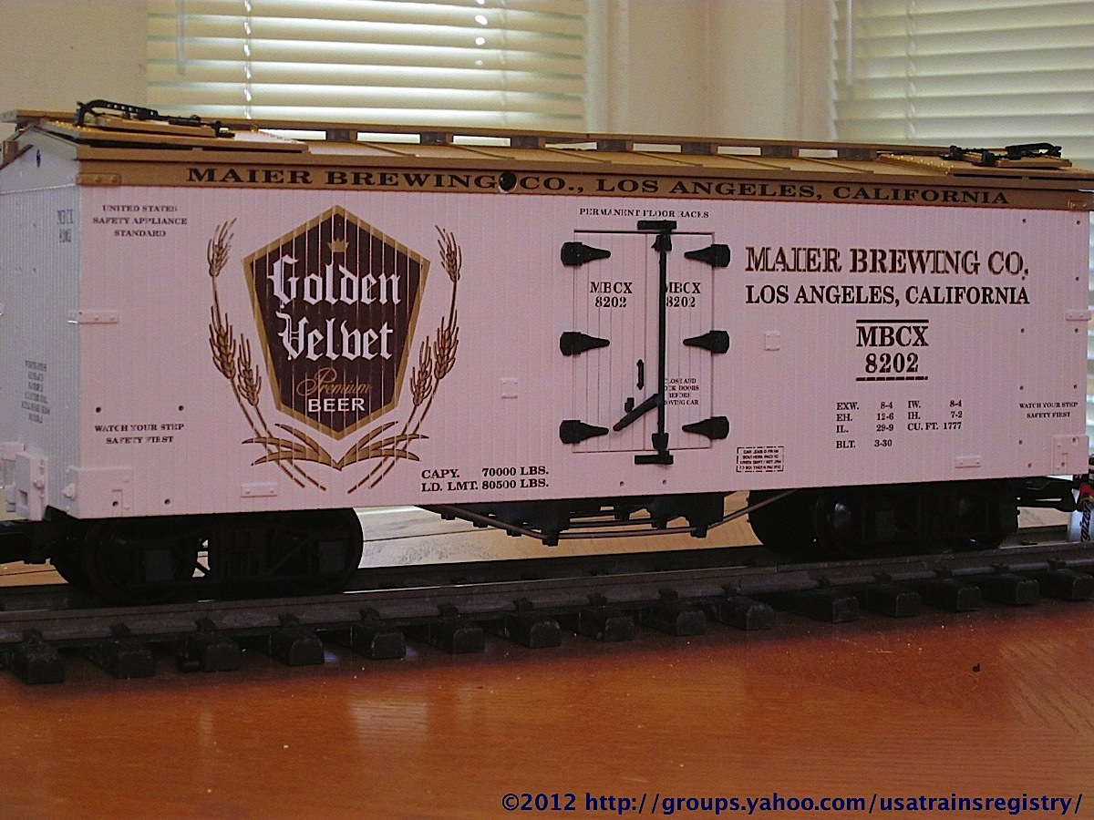 Maier Brewing Co. Kühlwagen (Reefer) MBCX 8202
