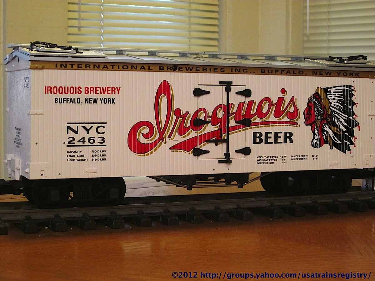International Breweries Kühlwagen (Reefer) NYC 2463