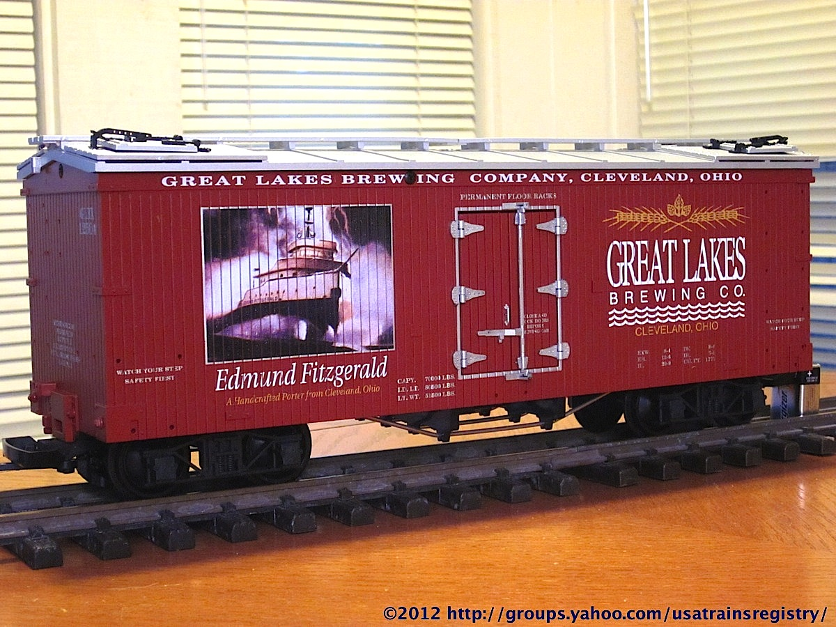 Great Lakes Brewing Company Kühlwagen, braun (Reefer, brown) GLBX 12504