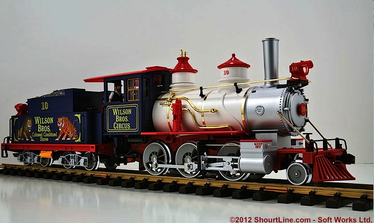 Wilson Brothers Circus Dampflok (Steam locomotive) 10