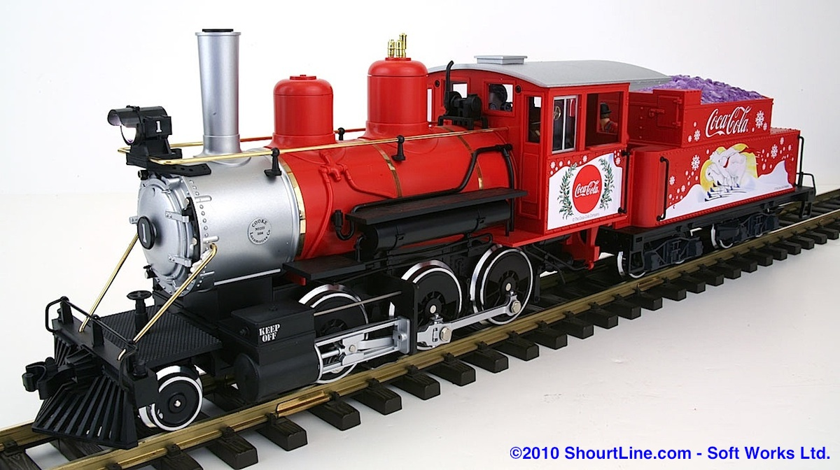 Coca-Cola®-Mogul Dampflok (Steam locomotive)