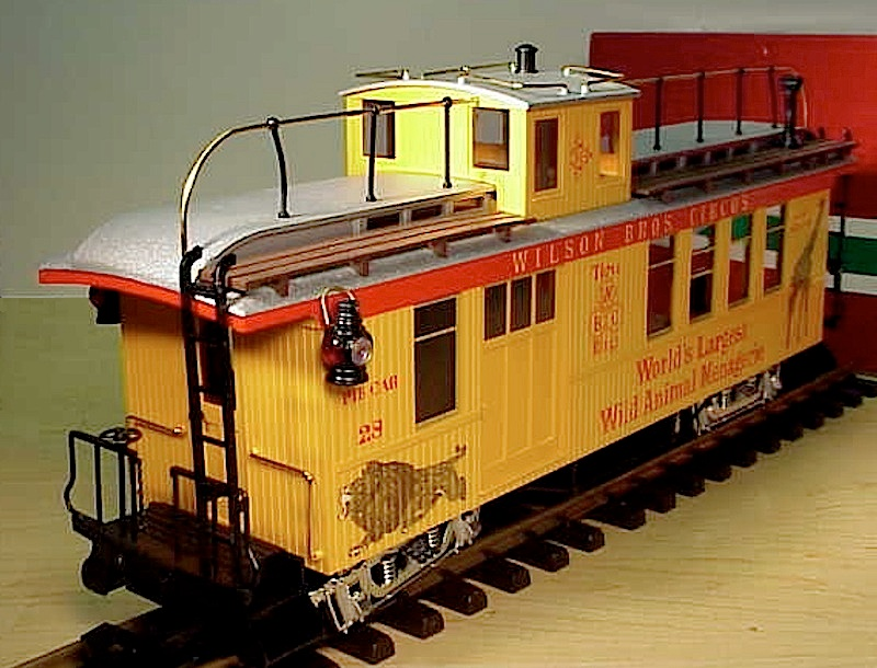 Wilson Brothers Circus Caboose