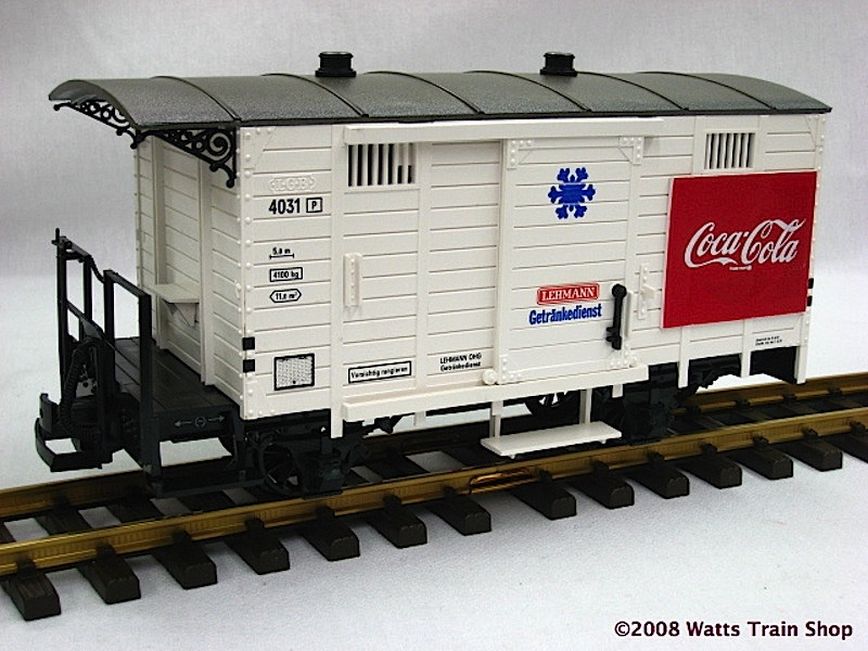 Coca-Cola Repro Wagen (Box car)