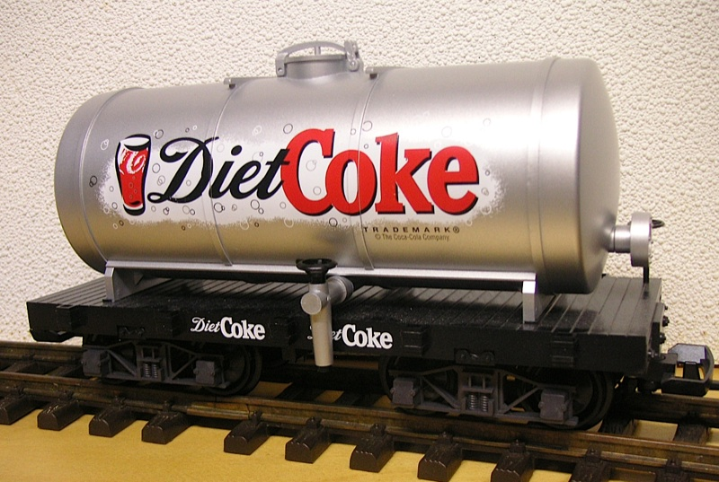Diet Coke Kesselwagen (Tank car)