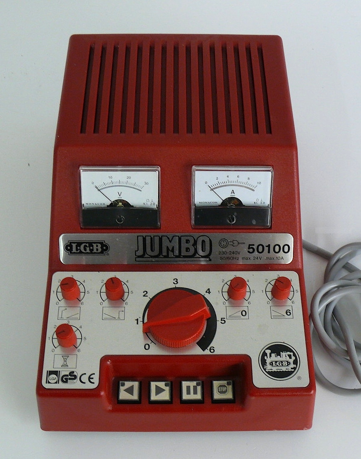 LGB Jumbo Trafo (Power pack) 10A, 24 V