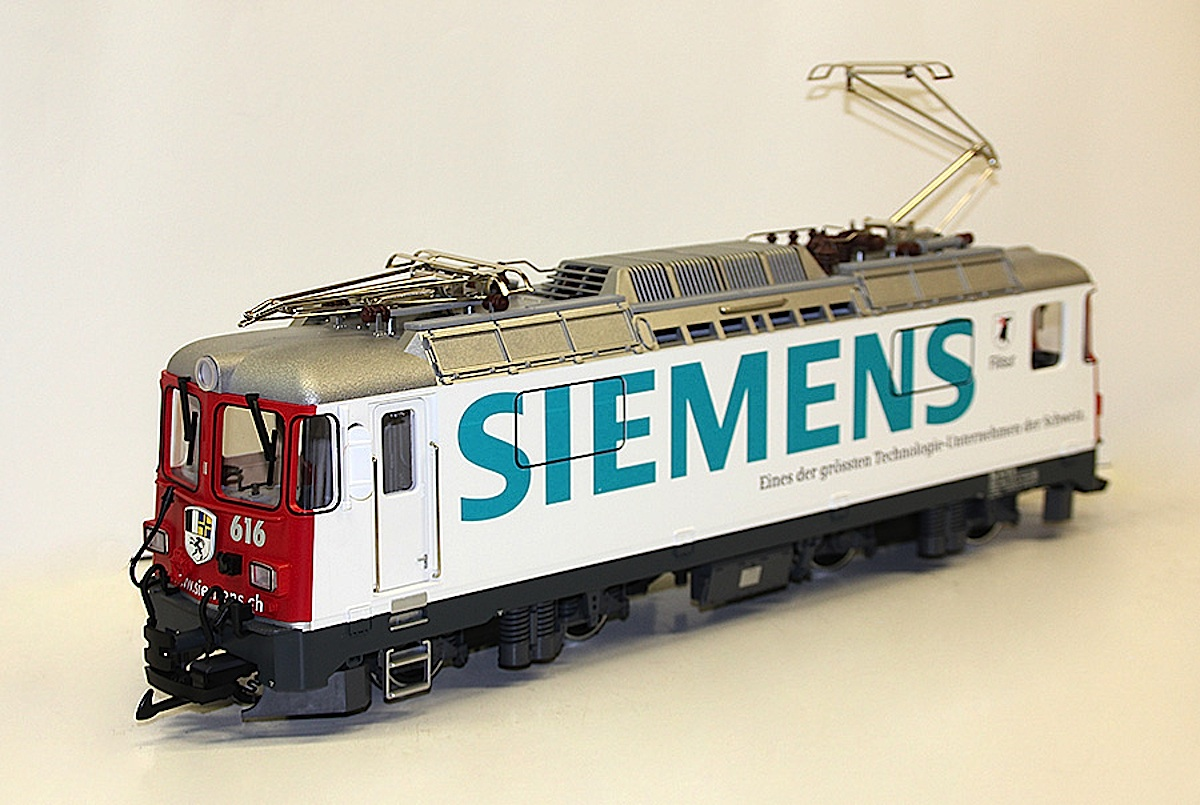 RhB Ellok (Electric locomotive) Ge 4/4 II 616 Siemens