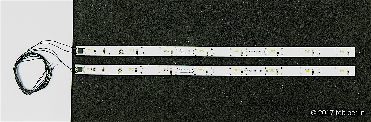 LED Wageninnenbeleuchtung (Lights for car interior) 230 mm