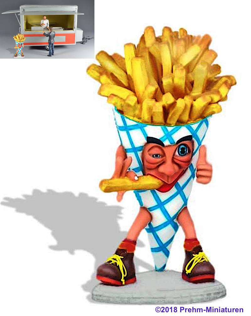 Riesen Pommestüte (Giant French Fries)