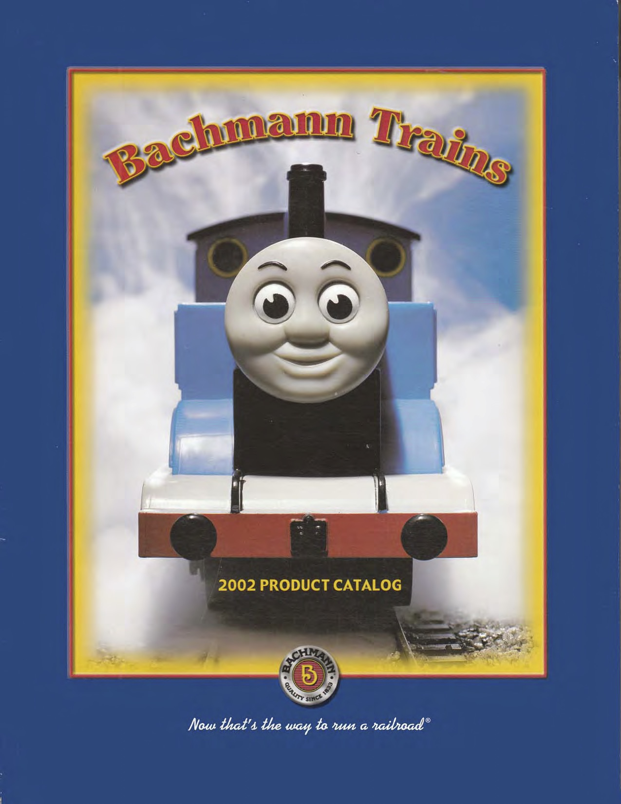 Bachmann Trains Katalog (Catalogue) 2002