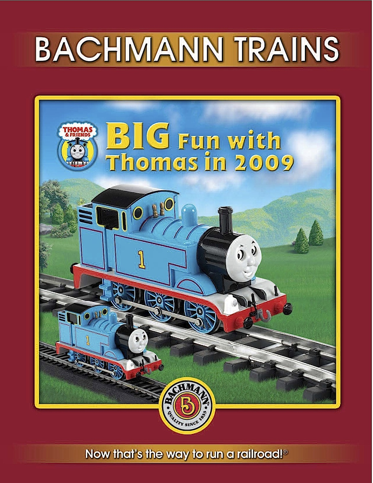 Bachmann Trains Katalog (Catalogue) 2009