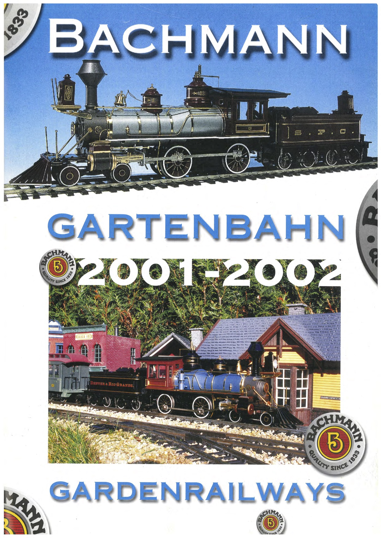 Bachmann Trains Katalog (Catalogue) 2001 - 2002