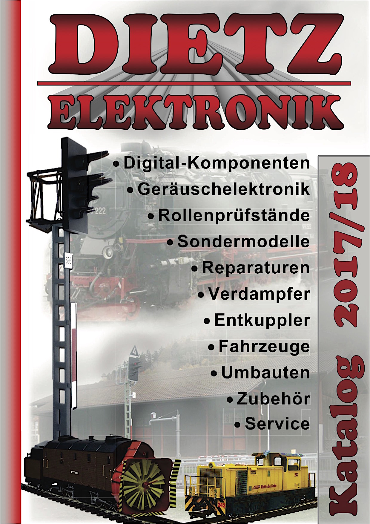 Dietz Katalog (Catalogue) 2017/2018