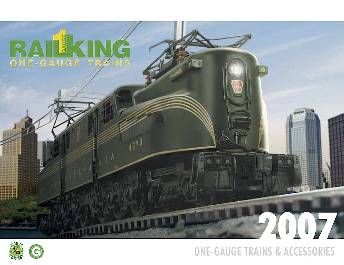 MTH One Gauge Katalog (Catalogue) 2007