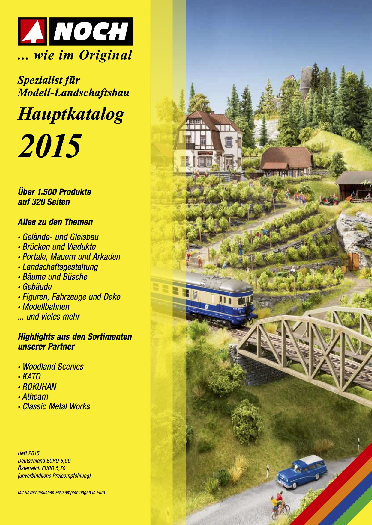 NOCH Katalog (Catalogue) 2015