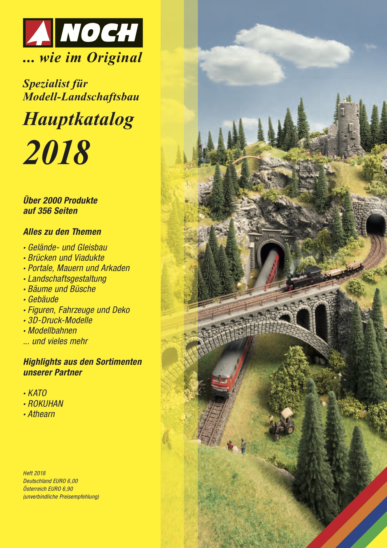 NOCH Katalog (Catalogue) 2018