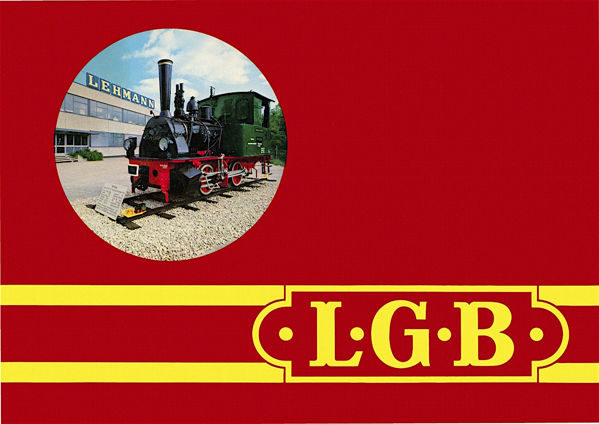 LGB Katalog (Catalogue) 1979-80 - English