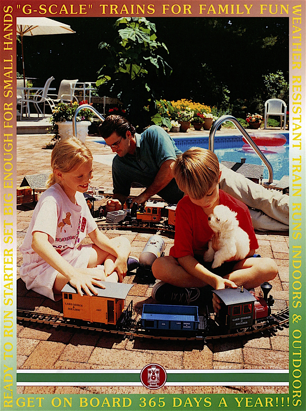 Lehmann Toy Train Katalog (Catalogue) 1996 - English