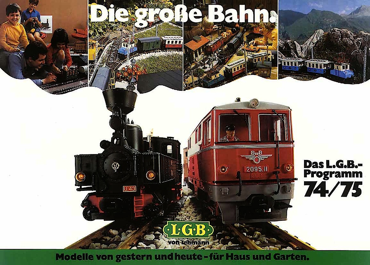 LGB Katalog (Catalogue) 1974-75 (Deutsch/German)