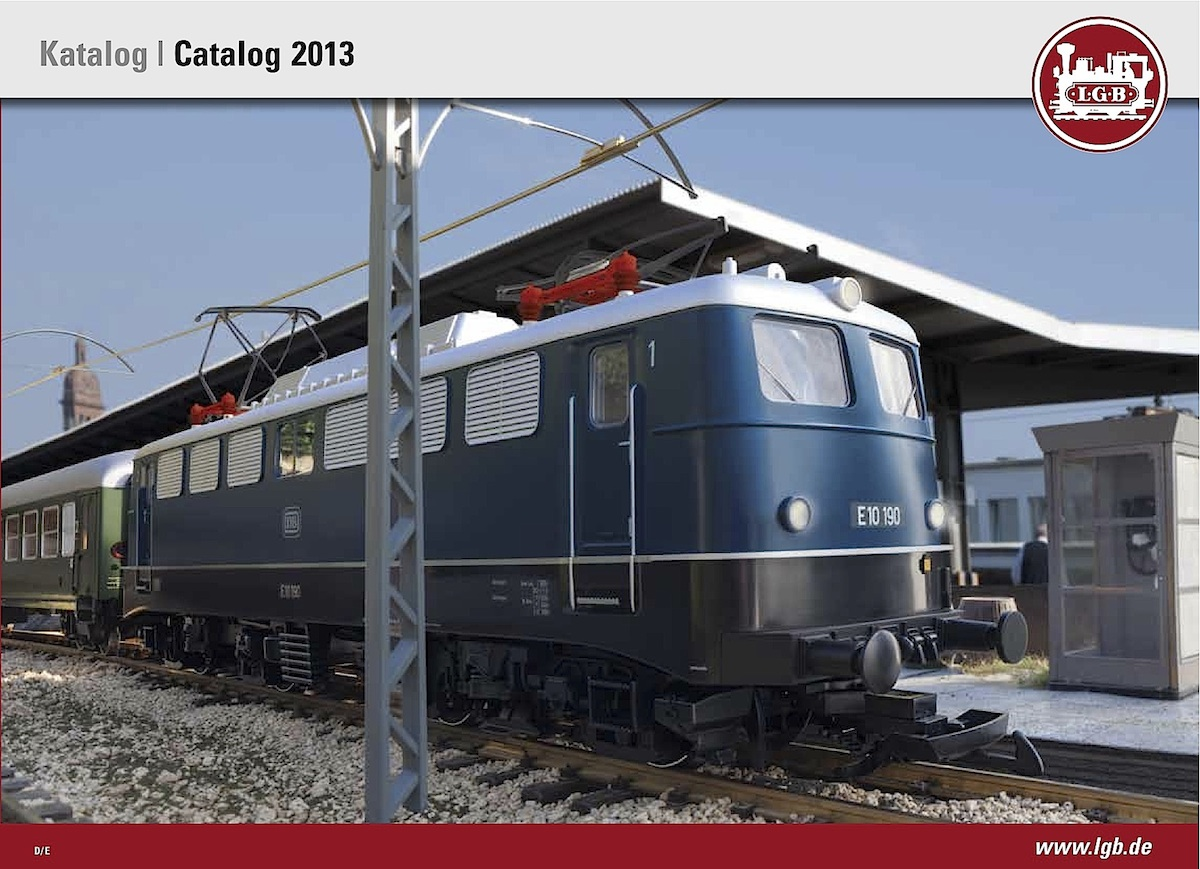 LGB Katalog (Catalogue) 2013