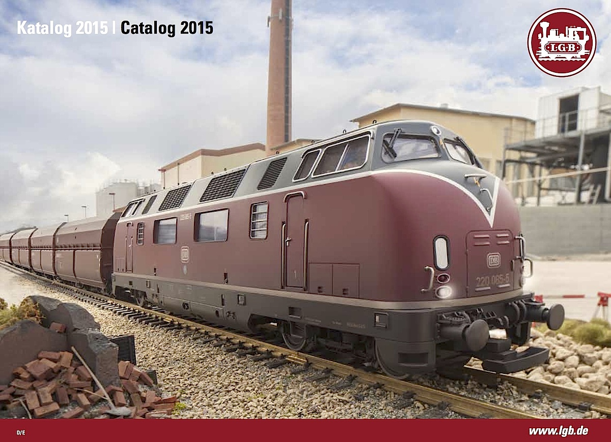 LGB Katalog (Catalogue) 2015