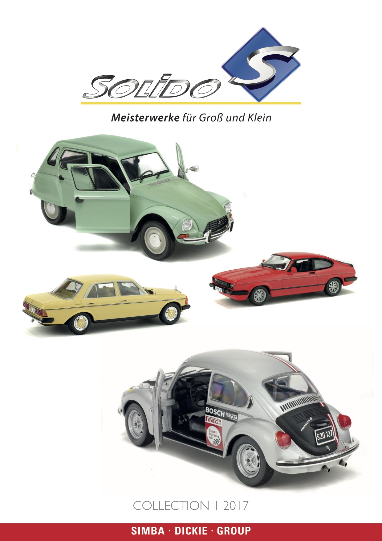 Solido Katalog (Catalogue) 2017
