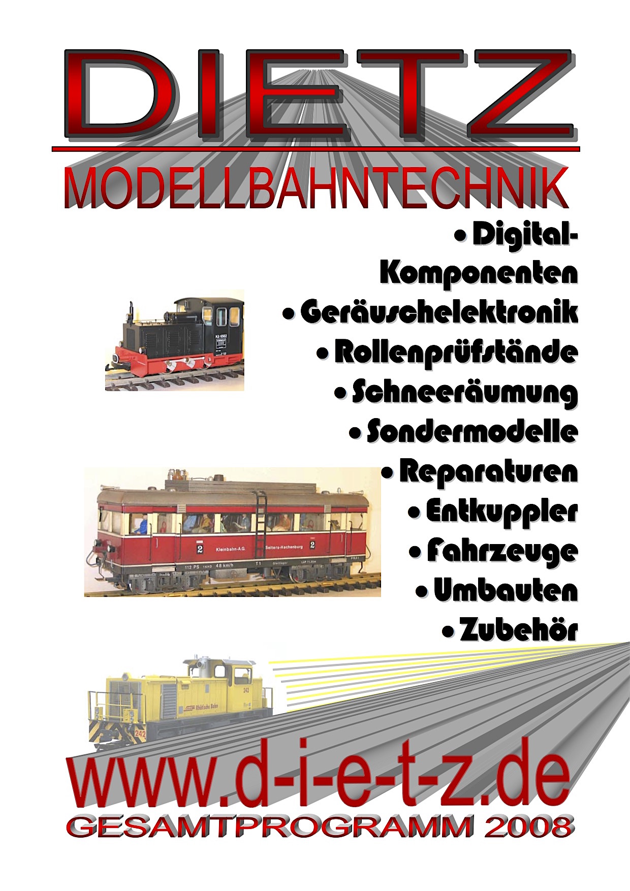 Dietz Katalog (Catalogue) 2008
