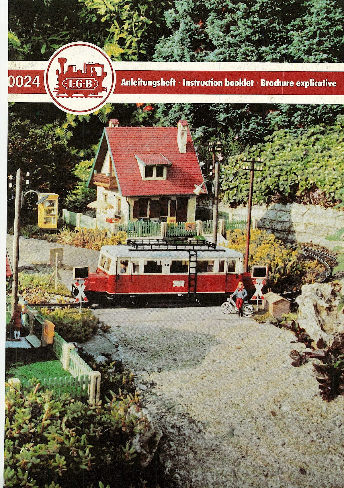 LGB Anleitungsheft (Instruction booklet) 1983