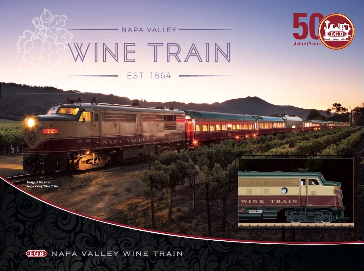 LGB Broschüre (Flyer) 2019 - NAPA Wine Train