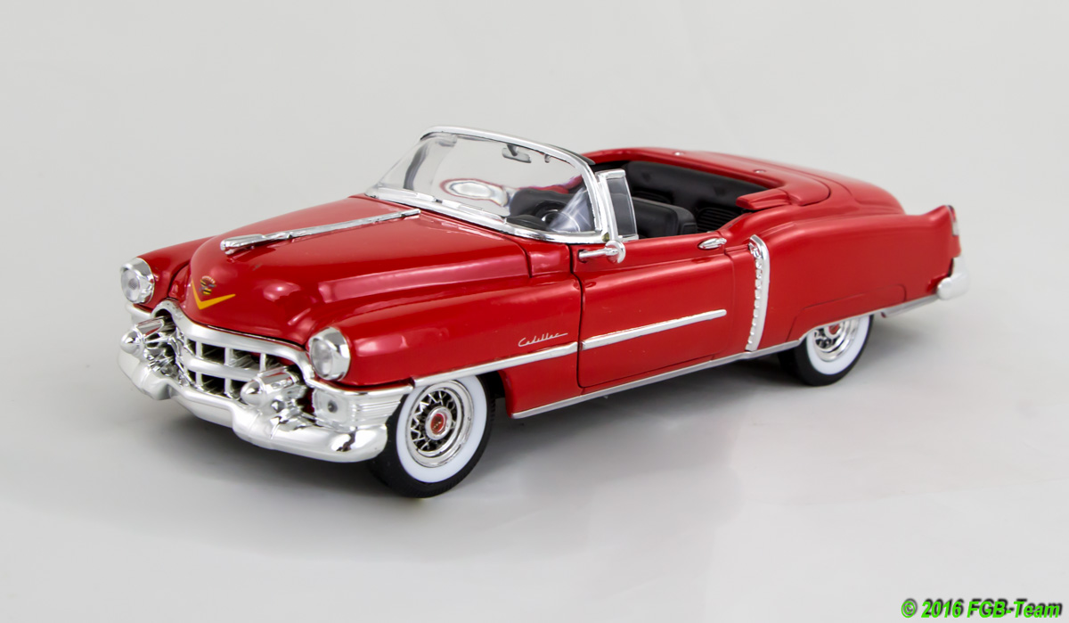 1953 Cadillac Eldorado Convertible, red (by Welly)