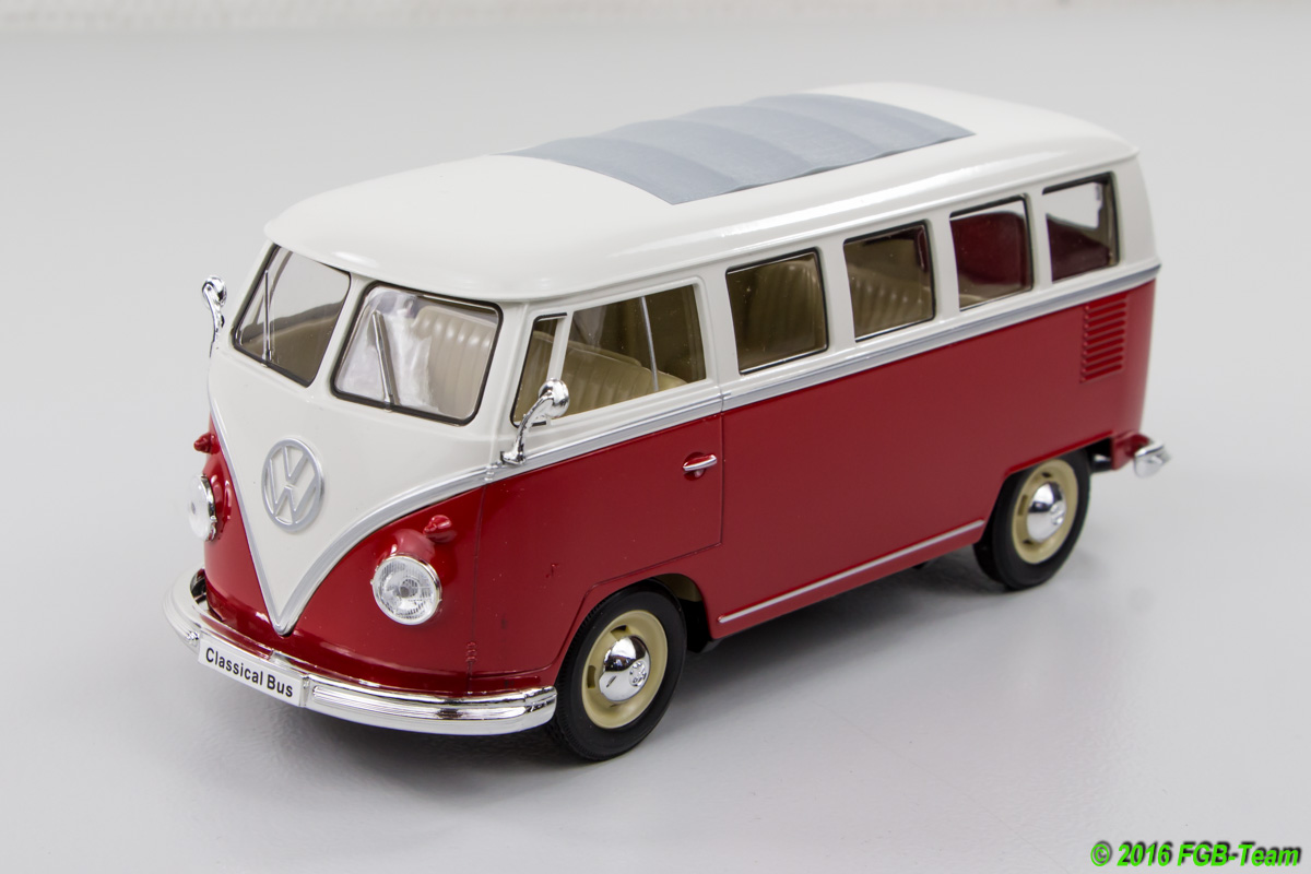 1963 VW T1 Bus (by Welly)