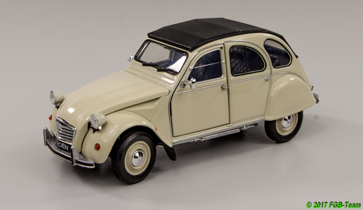 Citroen 2CV (by Welly)