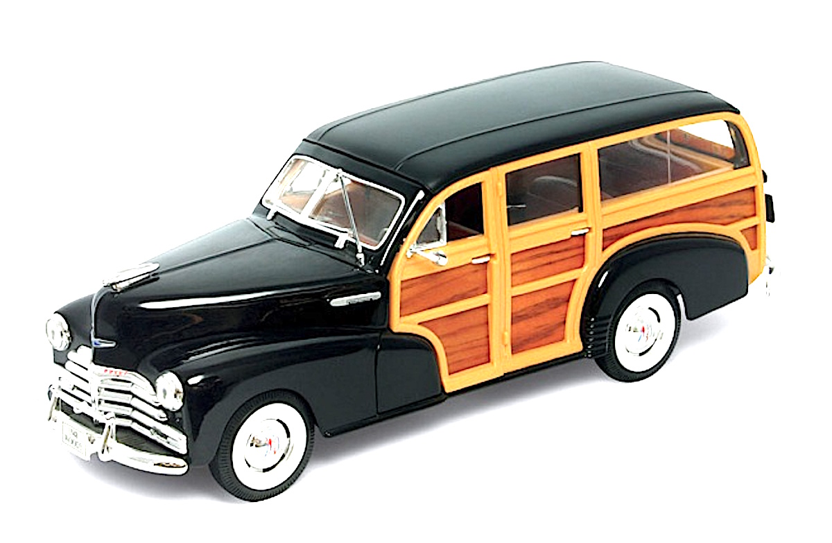 1948 Chevrolet Woody Wagon Fleetmaster (by Welly)