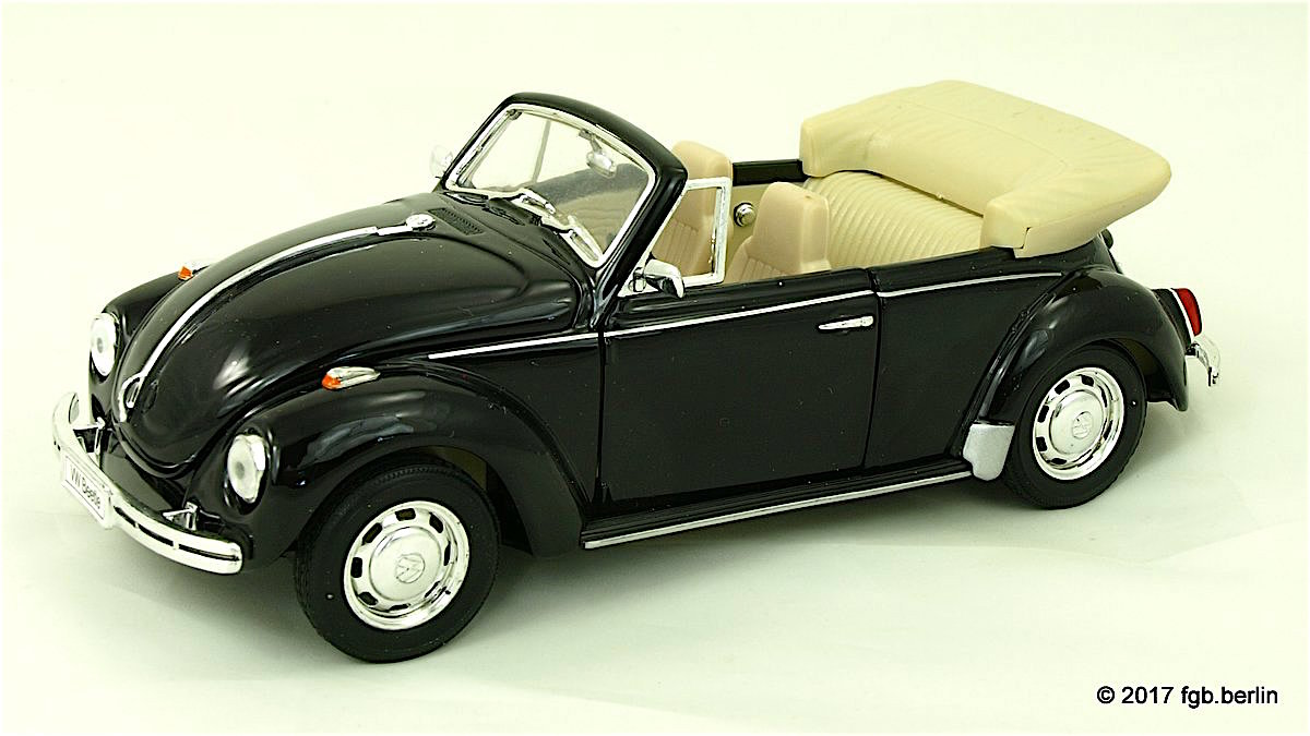 1959 VW Käfer Cabriolet (Beetle Convertible) - by Welly