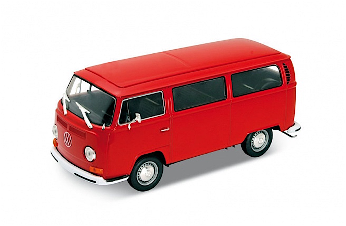 1972 Volkswagen Bus T2 - Camper (by Welly)