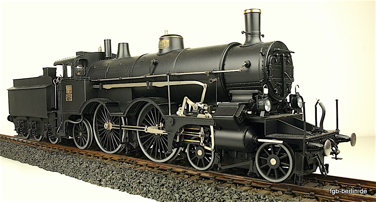 kkStB Schnellzug Dampflokomotive (Express train steam locomotive)