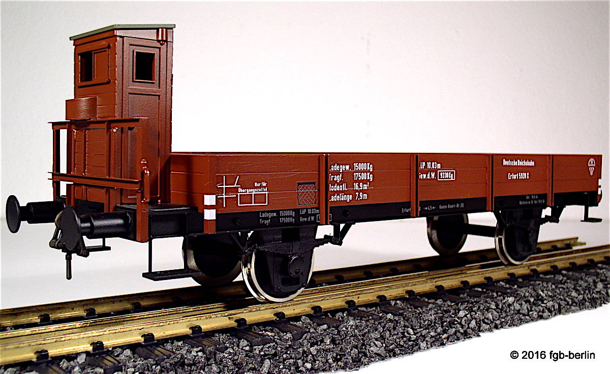 DR Niederbordwagen (Low-sided gondola) 5928X