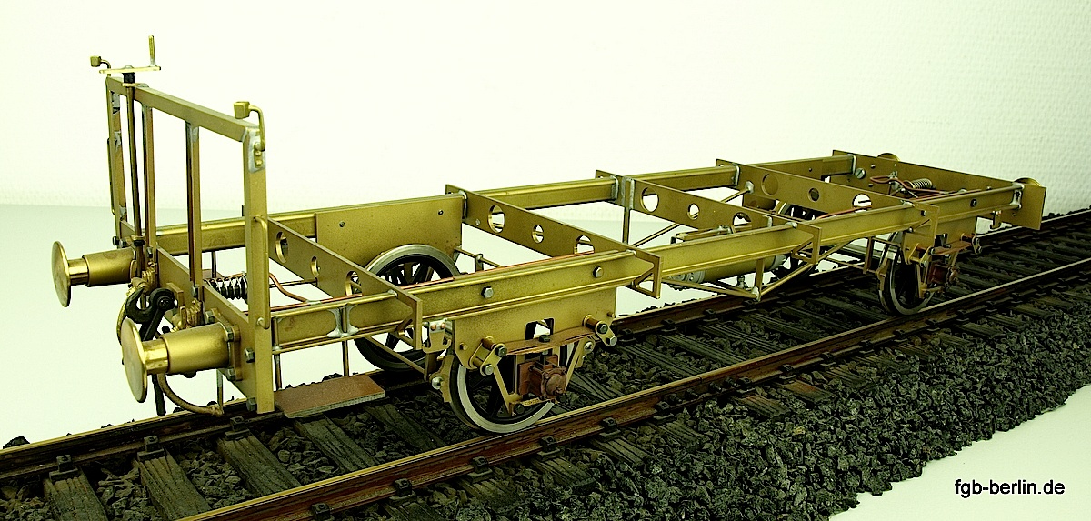 Güterwagen Fahrgestell (Freight car frame with axles)