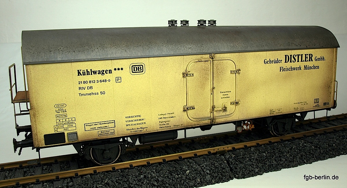 DB Kühlwagen (Refrigeration car) Distler