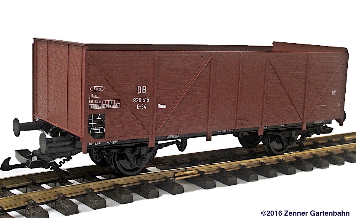 DB Hochbordwagen (High-sided gondola) 826 516