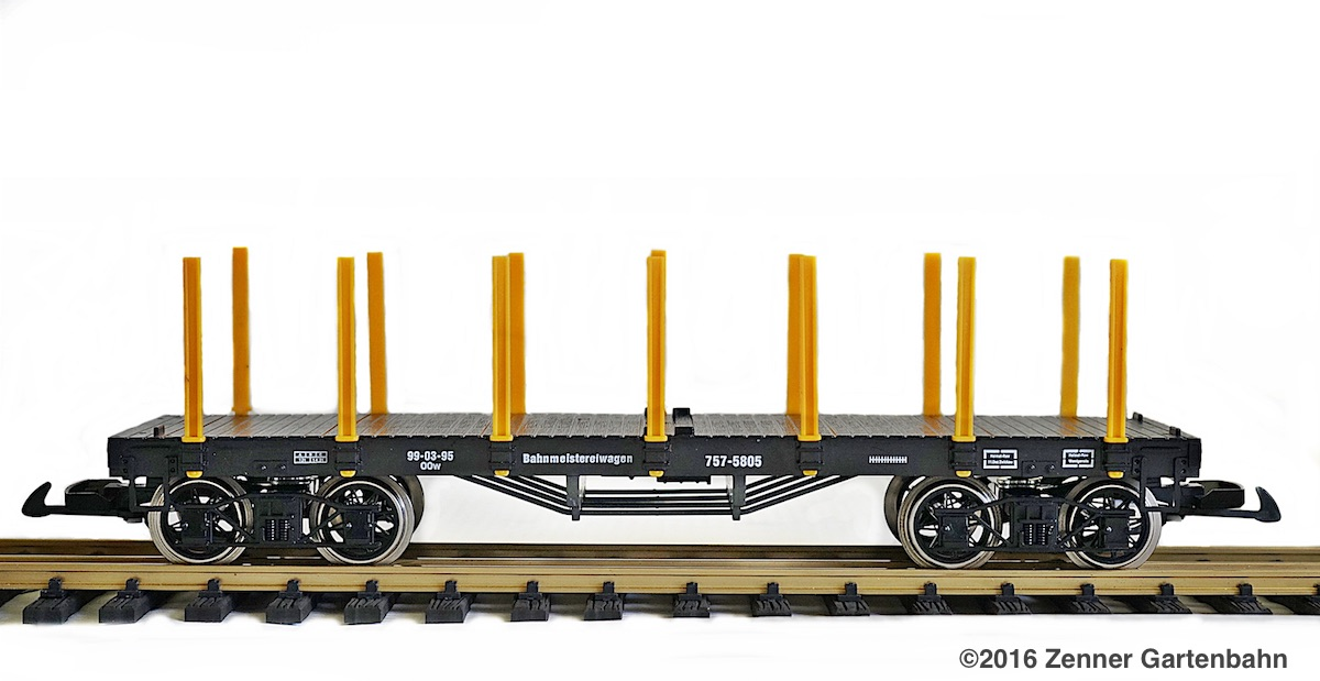 Rungenwagen (Flat car with stanchions) 99-03-95