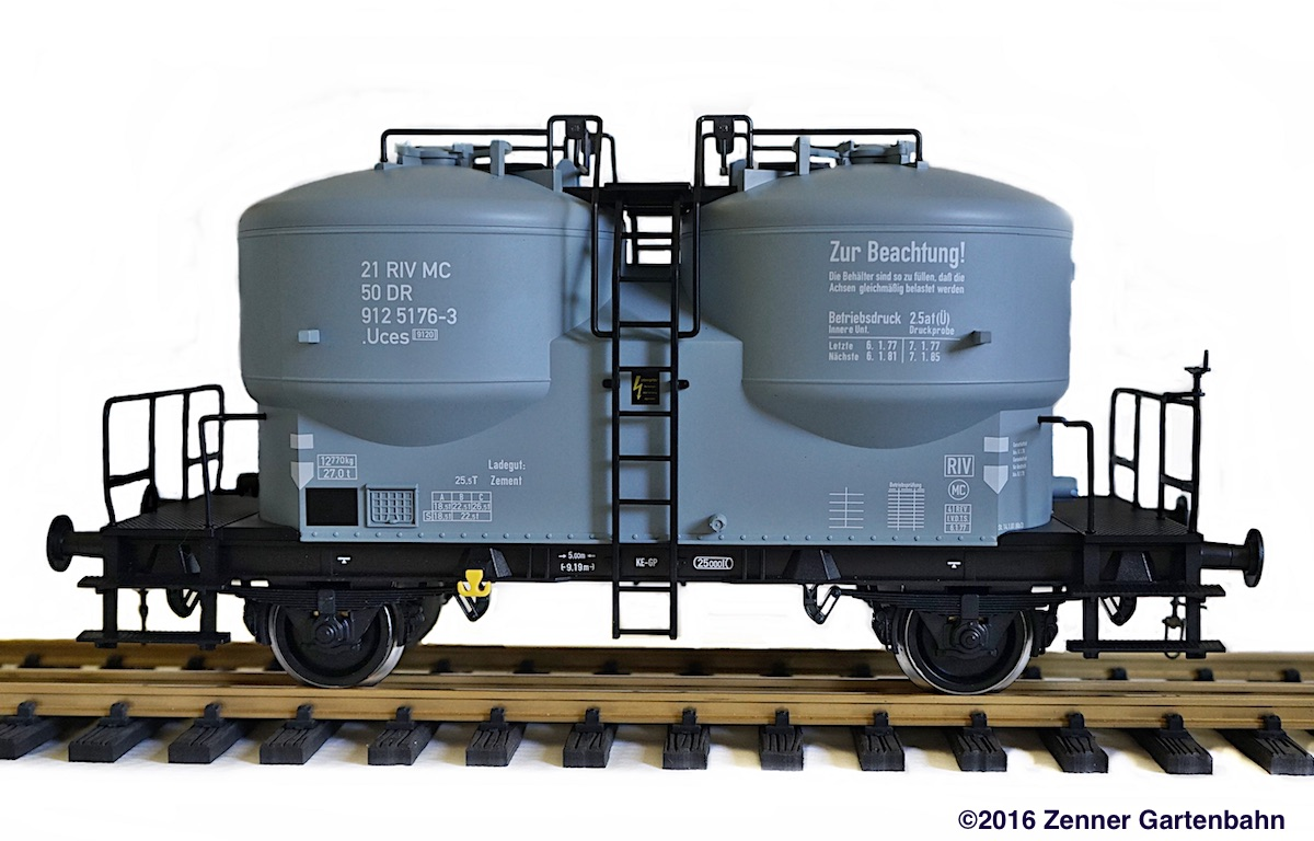 DR Zementsilowagen (Cement silo car) 912 5176-3