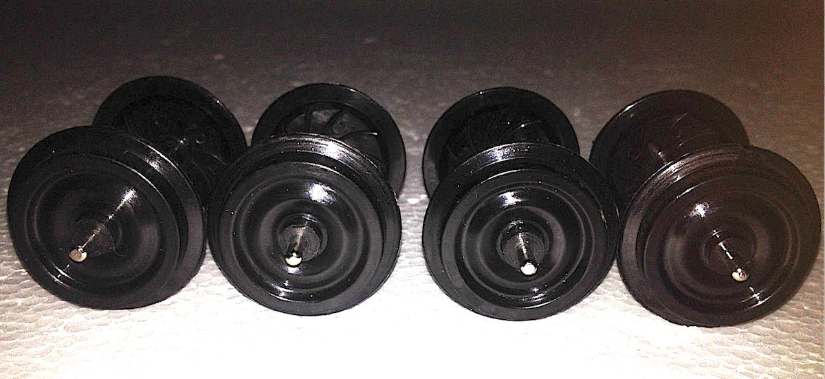 Aristo-Craft Kunststoffachsen (Plastic wheels) 30 mm