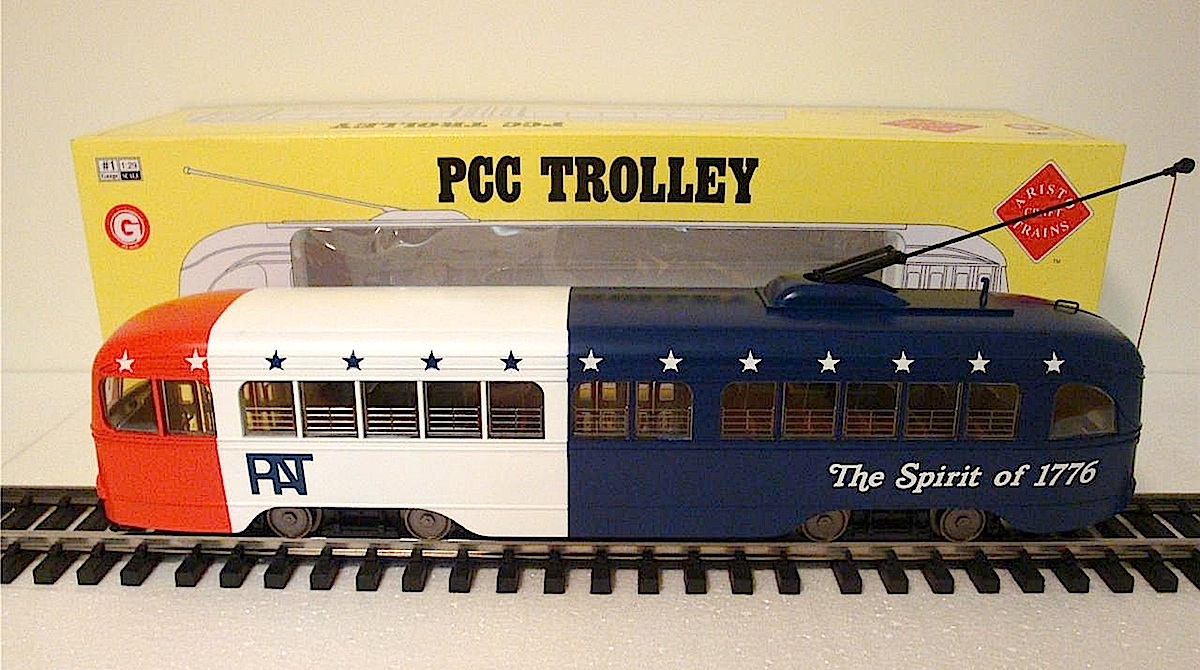"ECLSTS 2012 Show Car - ""Spirit of 1776"" PCC Strassenbahn (Trolley)"