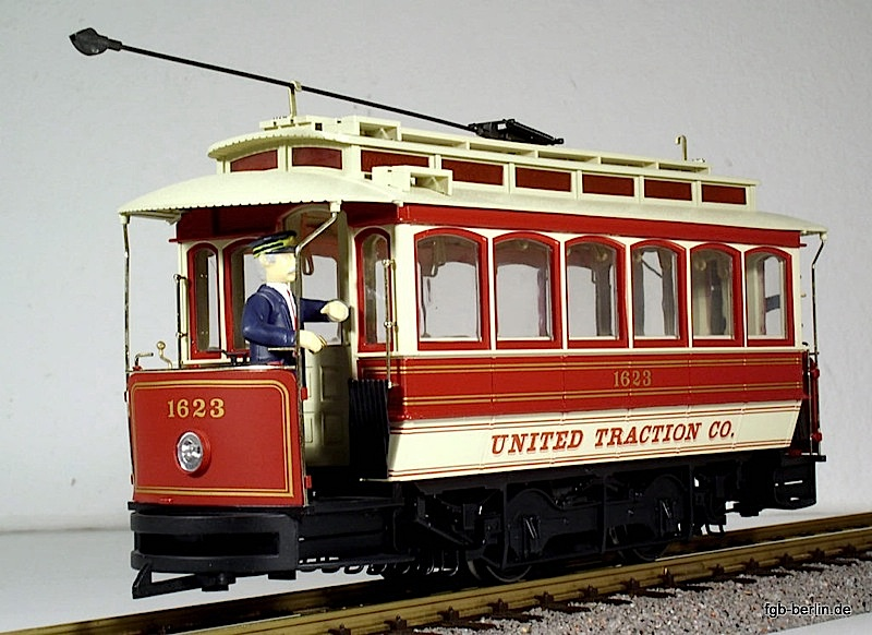 United Traction Co. Strassenbahn (Streetcar) 1623