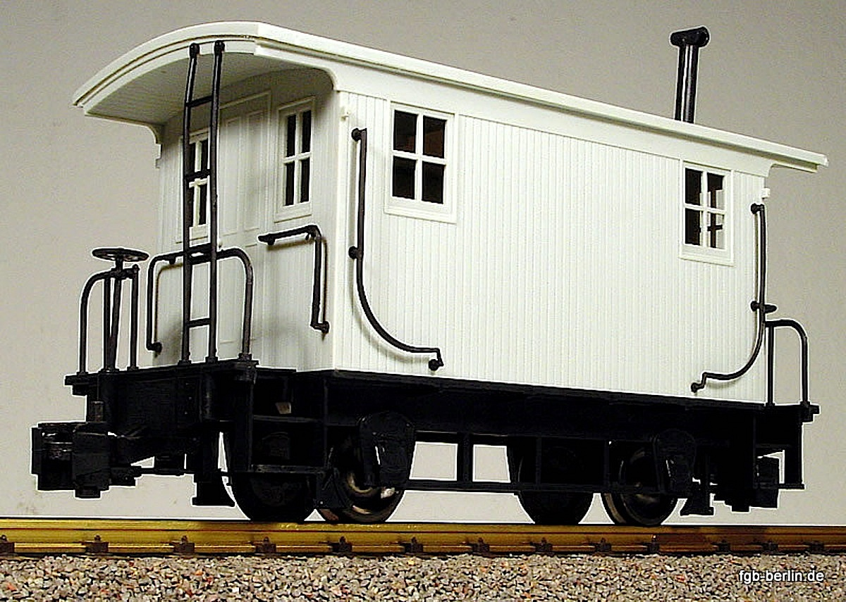 Caboose ohne Beschriftung (undecorated)