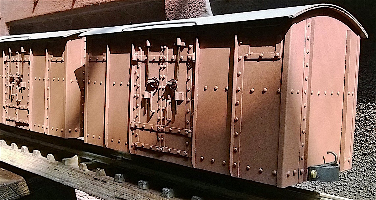 Darjeeling Himalayan Railroad Box Car (PLine Models)