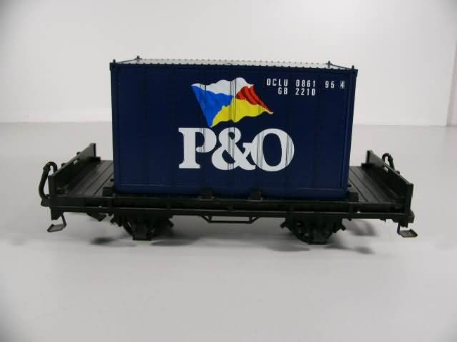 Containerwagen (Container car) P&O