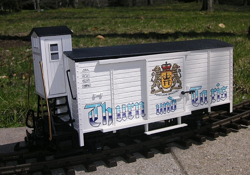 Bierwagen Thurn und Taxis (Thurn and Taxis Beercar)