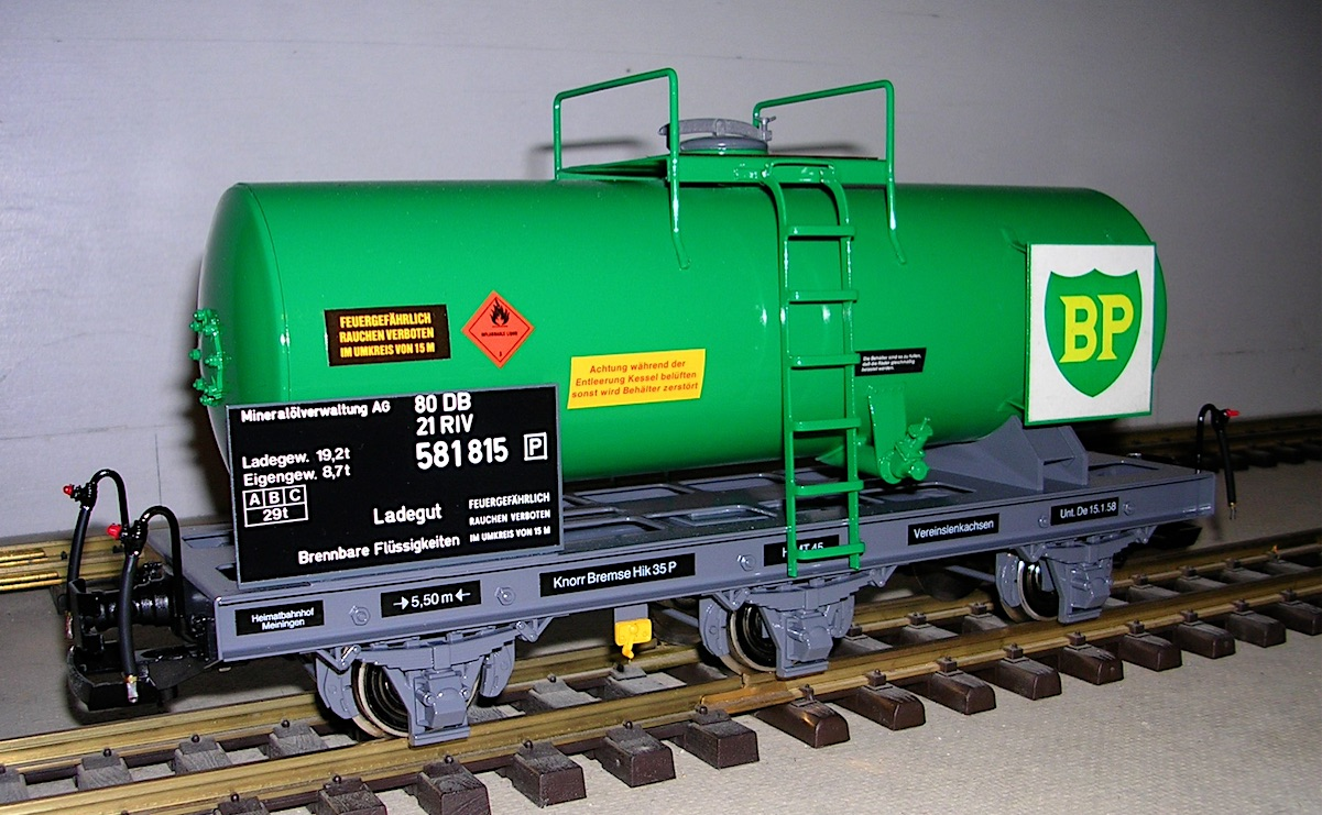 BP Kesselwagen (Tank car) 581815